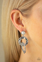 Load image into Gallery viewer, Paparazzi Earring ~ On Scene - White