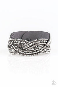 Paparazzi Bracelet ~ Bring On The Bling - Silver