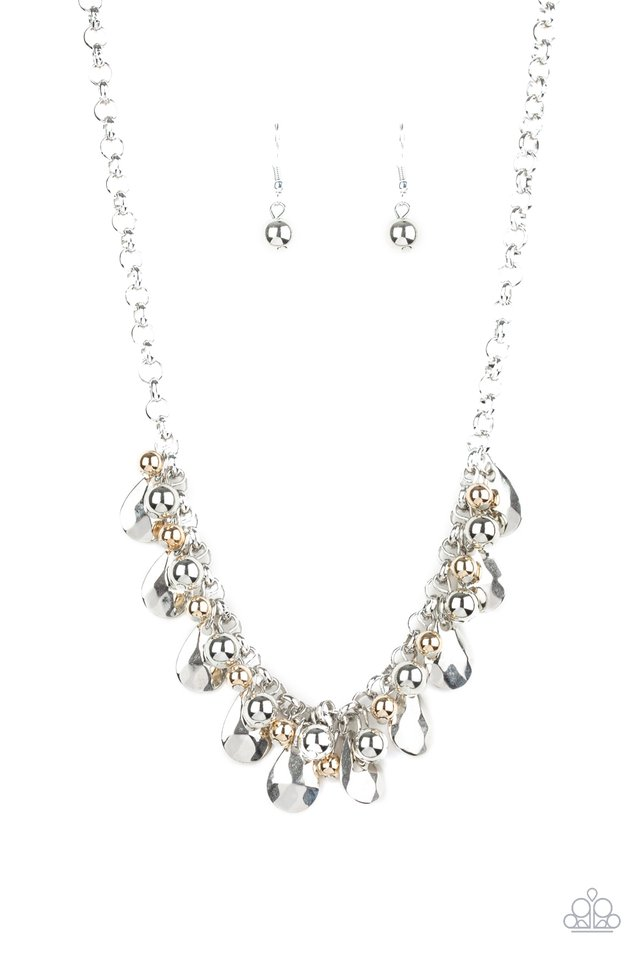 Paparazzi Necklace ~ Stage Stunner - Silver