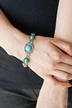Load image into Gallery viewer, Paparazzi Bracelet ~ Serenely Southern - Blue