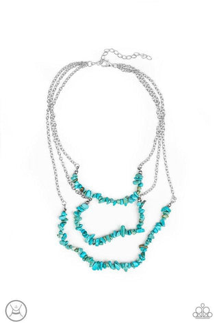 Blue Paparazzi Necklaces