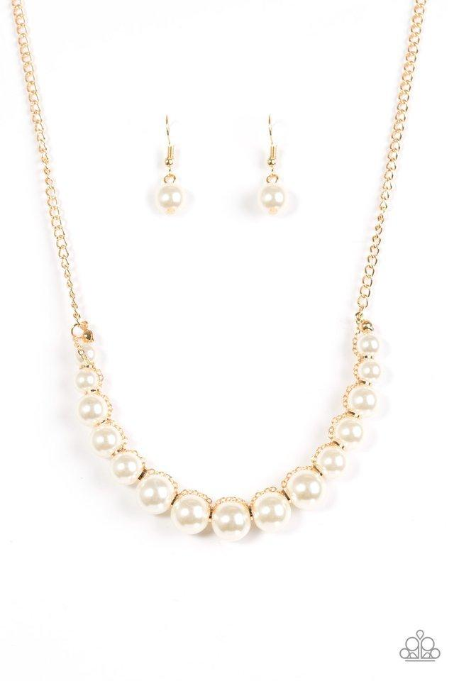 Paparazzi Necklace - The FASHION Show Must Go On! - Gold