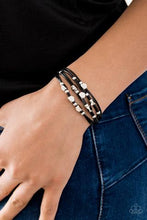 Load image into Gallery viewer, Paparazzi Bracelet ~ Cut the Cord - Black