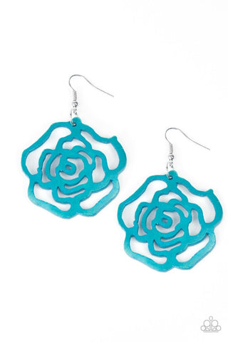 Blue Paparazzi Earrings