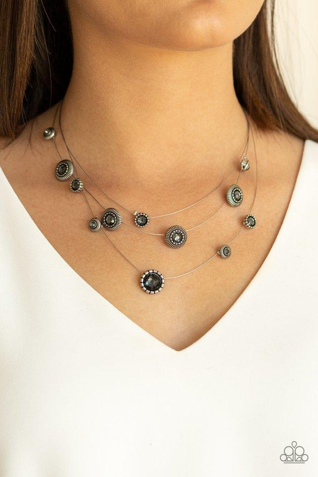 Paparazzi Necklace ~ SHEER Thing! - Silver