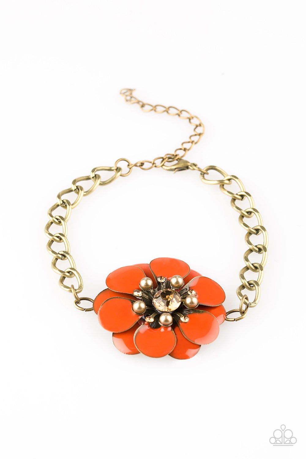 Paparazzi Accessories ~ Polynesian Princess - Orange