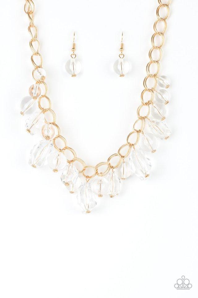 Paparazzi Necklace - Gorgeously Gobetrotter - Gold