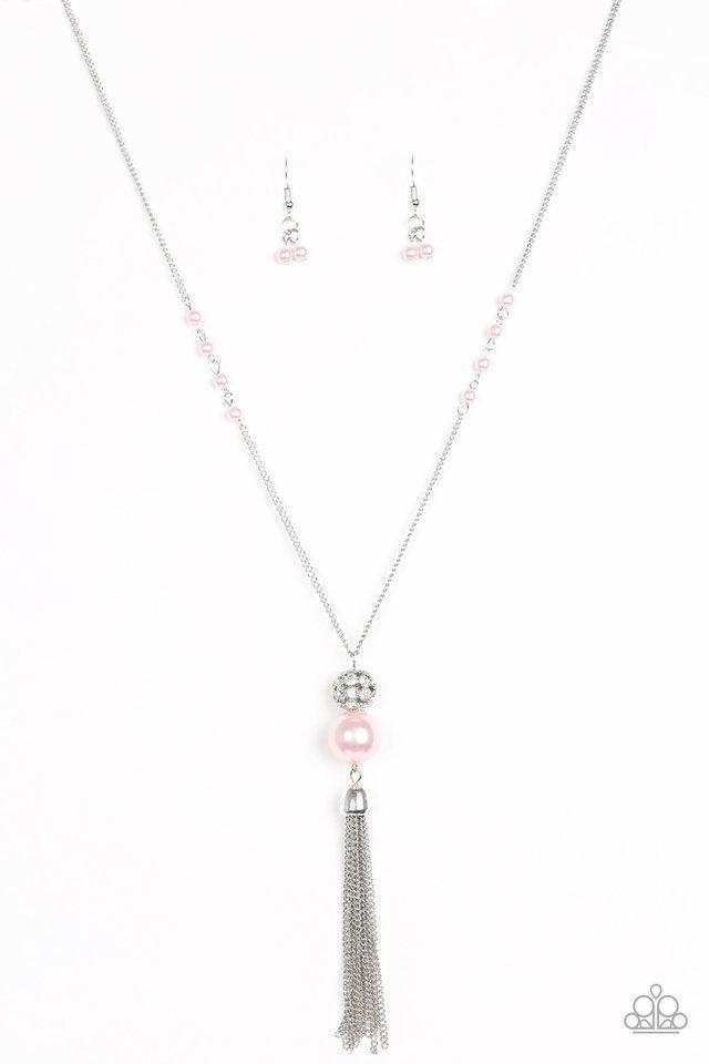 Paparazzi Necklace - The Only Show In Town - Pink