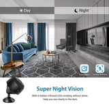 1080P Wifi Mini Hidden Cameras For House Night Vision Wireless Surveillance Camera