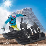 1 Pair Ski Shoes - Adjustable Mini Ski Skates Shoe Attachment For S