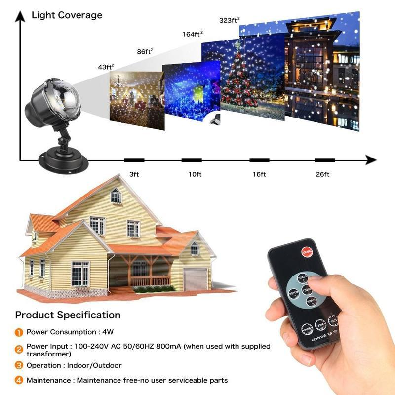 Led Christmas Light Projector S Projection Lamp