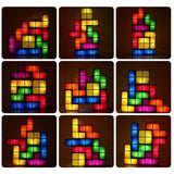 Tetris Led Stackable Night Lamp