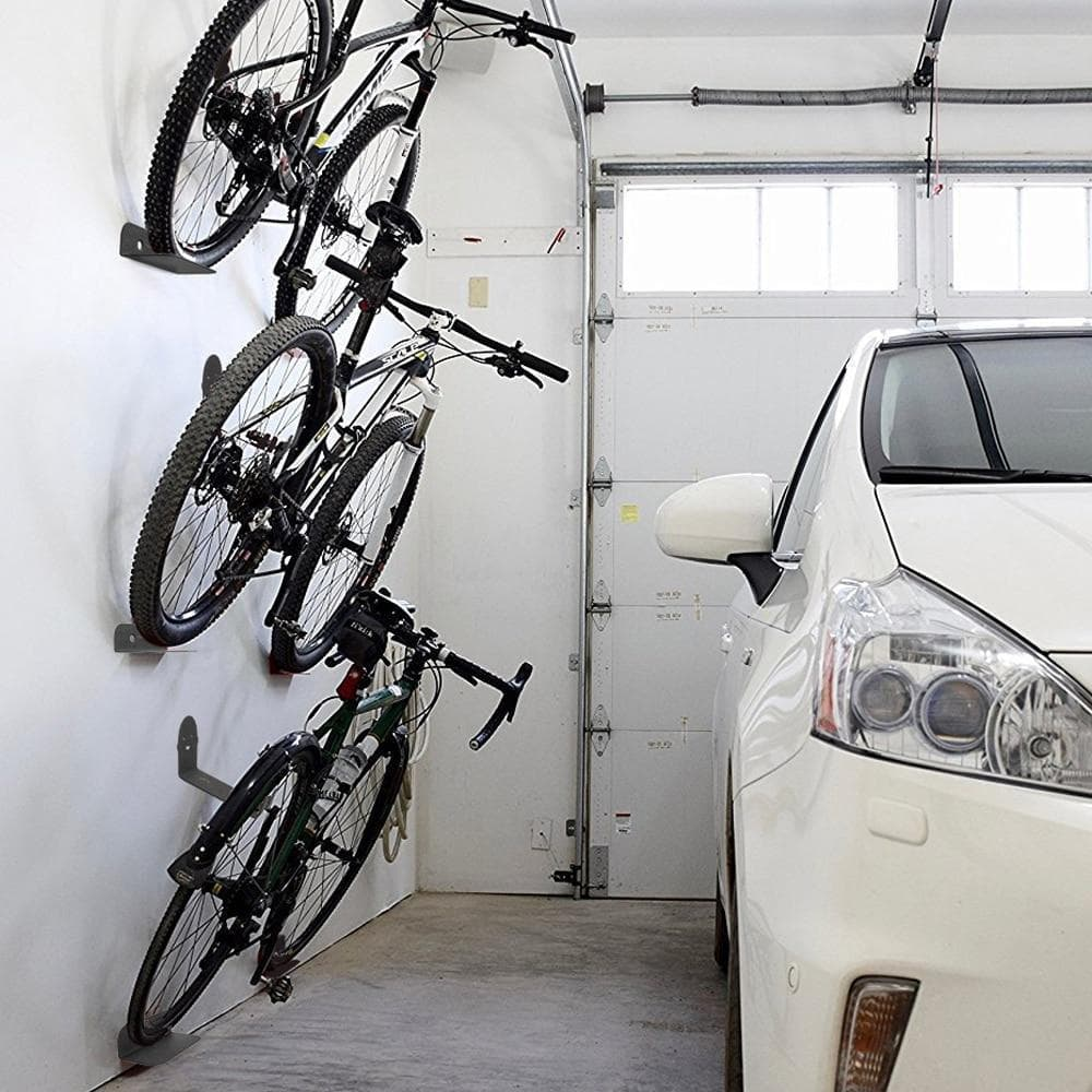 Premium Garage Bike Wall Mount Hook Hanger Rack