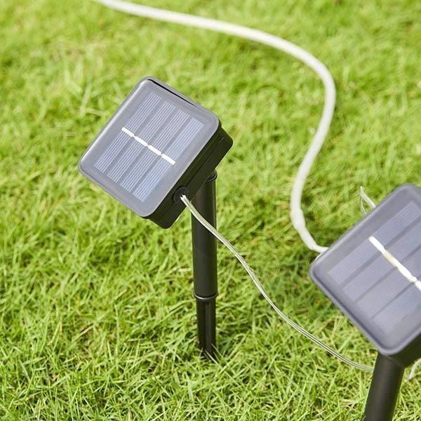40ft Solar Garden Pathway Light Strips