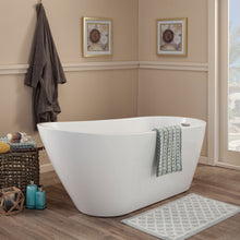 "Load image into Gallery viewer, Altair Design Shaia 67"" x 32"" Freestanding Soaking Acrylic Bathtub"