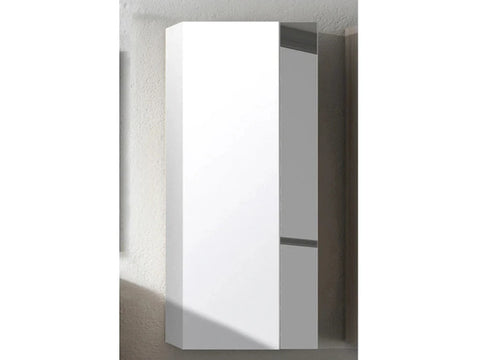 white and grey  Vision Tall Storage/ Cabinet