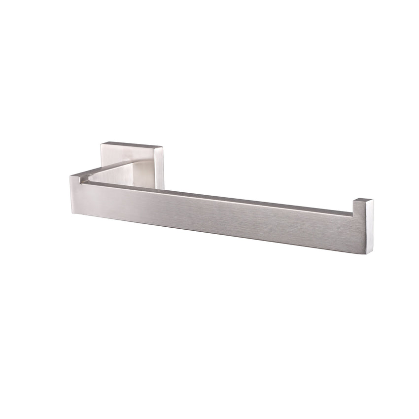 Bathroom Accessories - Bagno Lucido Stainless Steel Toilet Paper Holder - Satin Nickel
