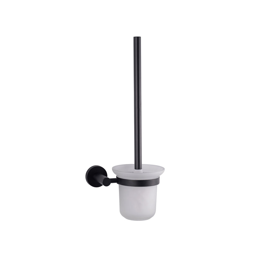 Bathroom Accessories - Bagno Nera Stainless Steel Toilet Brush - Matte Black