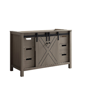 "Bathroom Vanities - 48"" Ash Grey Vanity Cabinet Only"