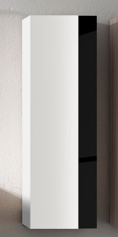 White And Black Vision Tall Storage/ Cabinet