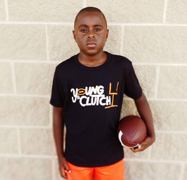 Young & Clutch Classic Football Shirt (Goal Post)