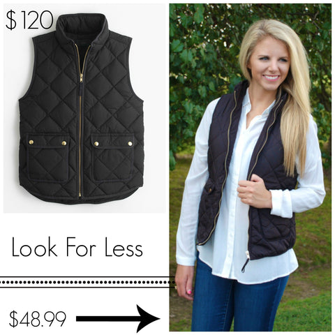 Quilted Equestrian Vest from ShopbellaC
