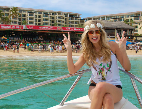 Summer Floral Crowns in Cabo San Lucas
