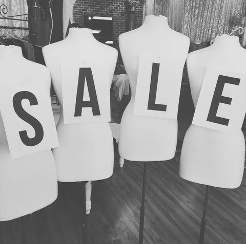 Sale Mannequins at ShopbellaC