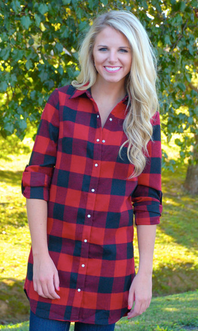 Vail Lumberjack Plaid Flannel Shirt