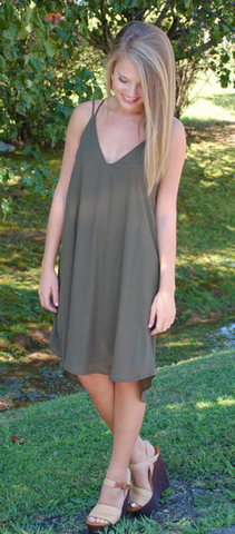 Olive You Dress from ShopbellaC