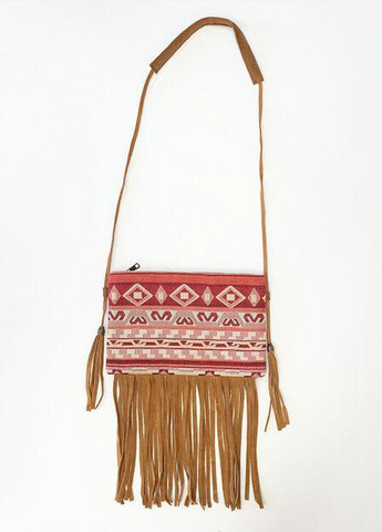 Cherokee Fringe Purse from ShopbellaC