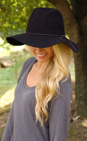 Black Adventures in the Fall Hat from ShopbellaC