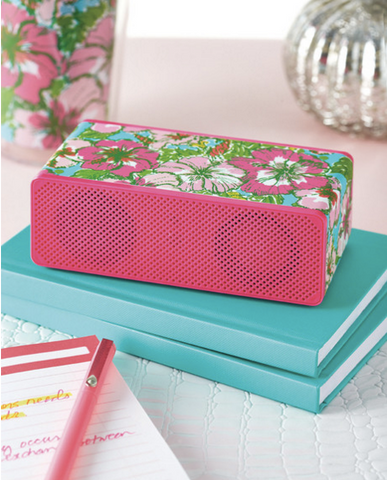 Lilly Pulitzer Wireless Bluetooth Speaker from ShopbellaC