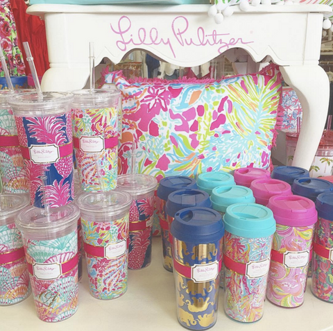 Lilly Pulitzer Drinkware from ShopbellaC