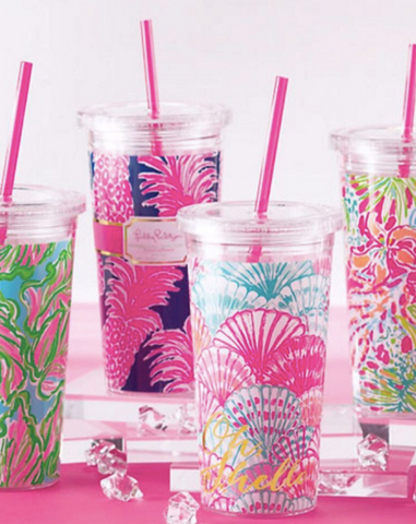 Lilly Pulitzer Oh Shello Tumbler