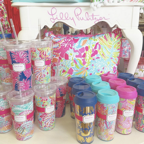 Lilly Pulitzer Drinkware at Your Online Clothing Boutique