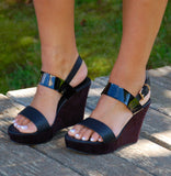 Returning Retro Platform Wedges