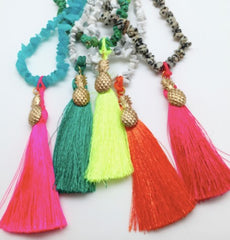 Bracha Tropics Tassel Necklace Collection