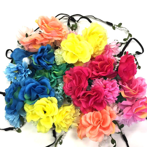 Floral Crowns from Your Online Clothing Boutique