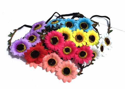 Summer Floral Crowns from ShopbellaC