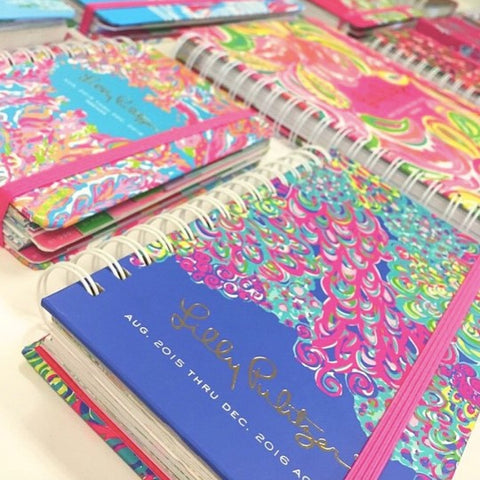 Lilly Pulitzer Agendas from ShopbellaC