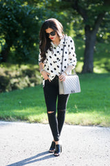 Little Hotty Dotty Blouse from ShopbellaC