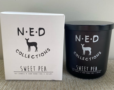 Ned Collections Hello Deer Soy Candle - Sweet Pea