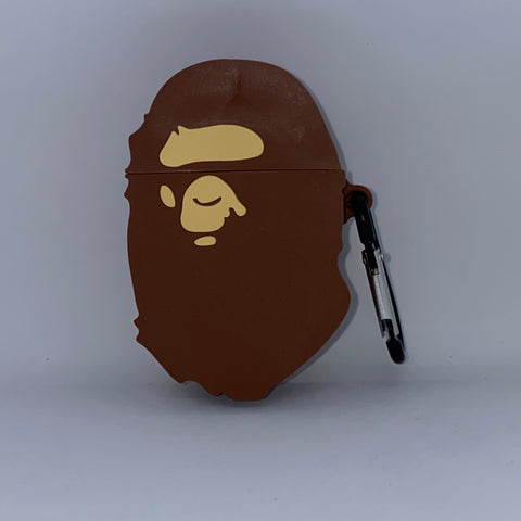 Brown Ape AirPod Case