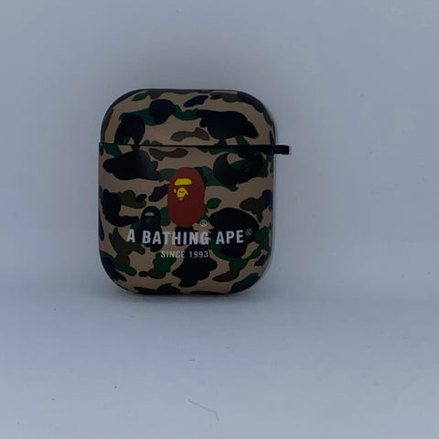 Green Camo AirPod Case