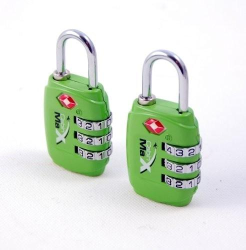 TSA luggage padlocks x 2 - Cabin Max
