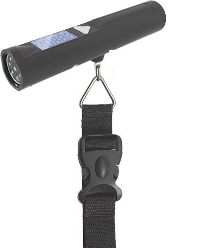 Digital Portable Travel Luggage Scale with built in 8 LED Torch - Cabin Max