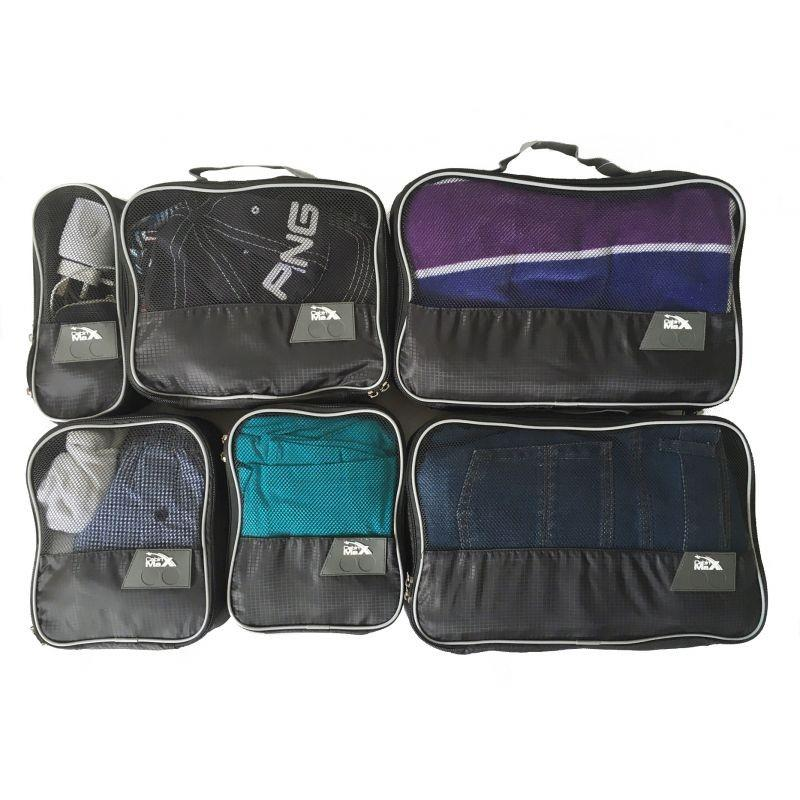 Packing Cube Set x 6 for 55x40x20 hand luggage - Cabin Max
