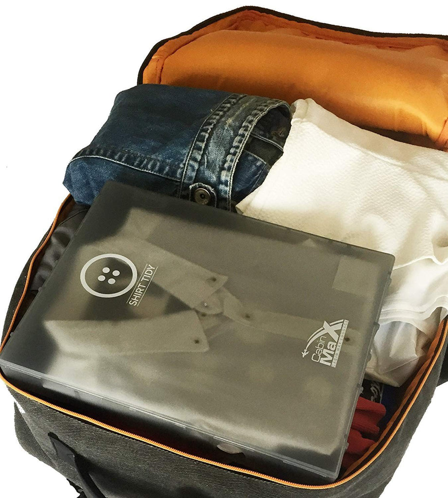 Shirt Tidy – 2 Pack Easy Packing and Travel Solution - Cabin Max