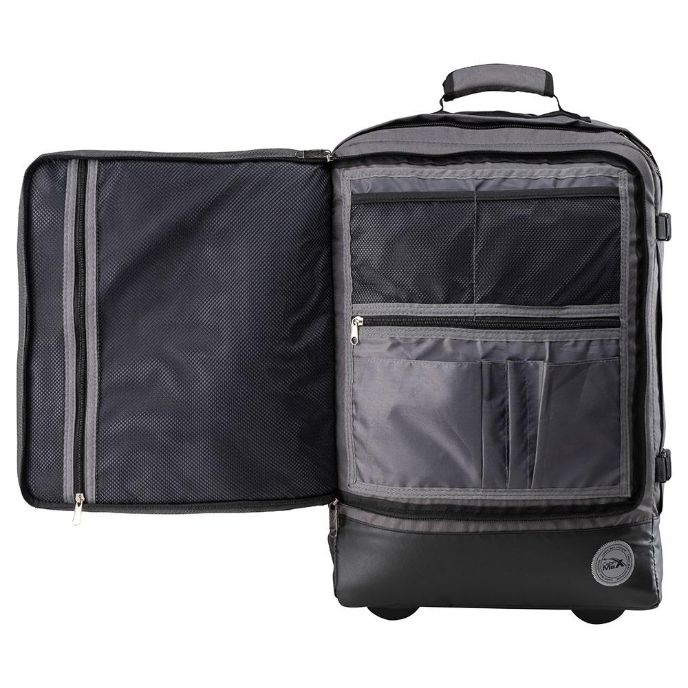 Greenwich 44L Hybrid Cabin Trolley & Backpack - Cabin Max